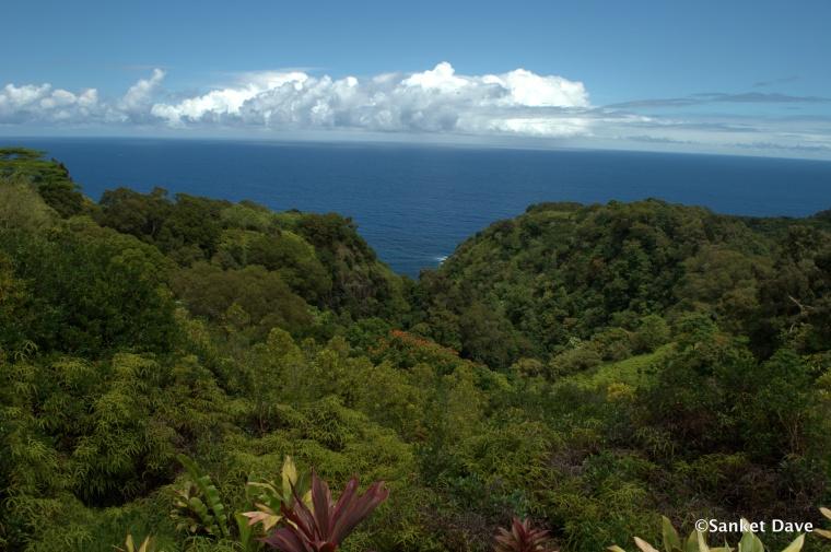 View from the Kahanu Garden